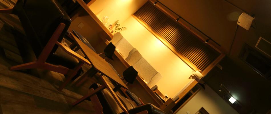 ホステルコエドのダイニングルーム